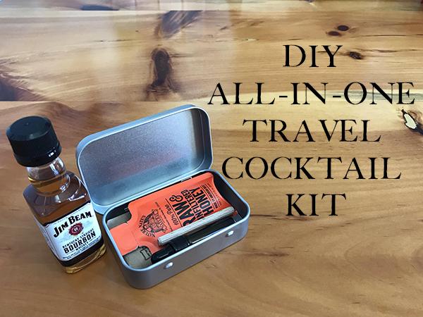 Travel cocktail kit.