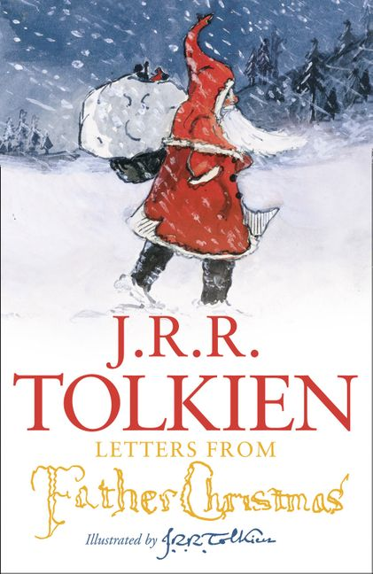 Letters from Father Christmas by J.R.R. Tolkien book cover.
