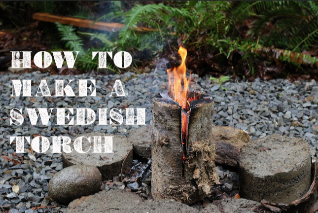 How to Make a Swedish Torch | The Art of Manliness