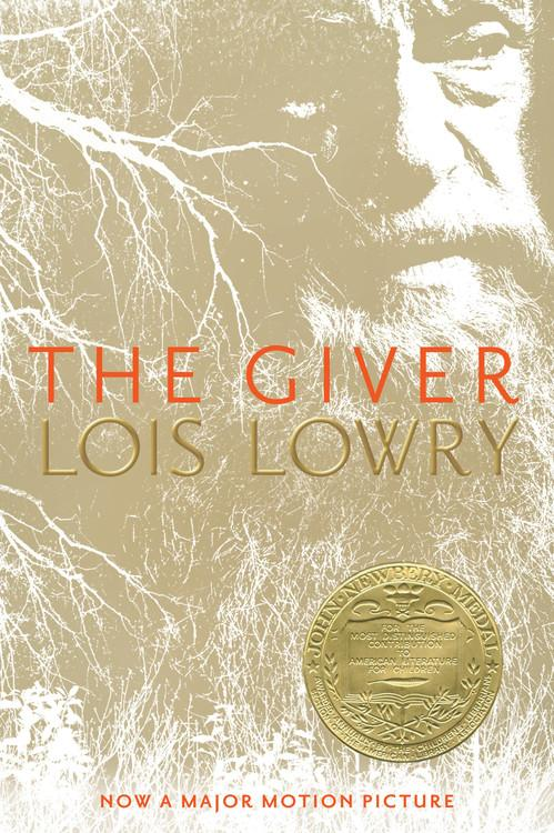 Book cover of The Giver by Lois Lowry.