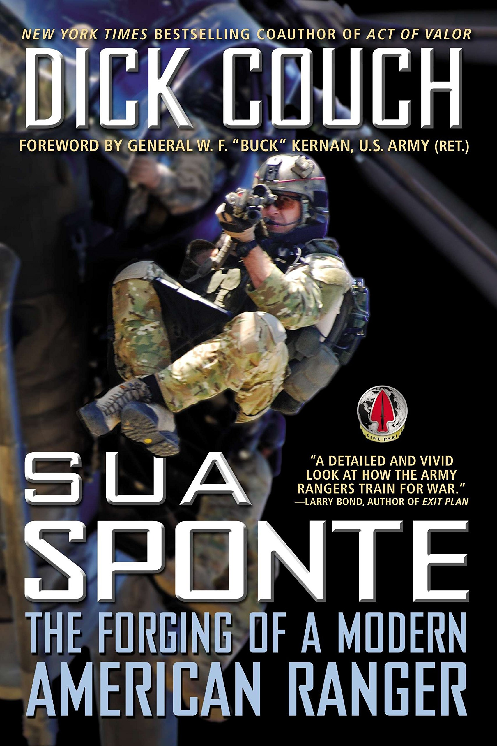 Book cover of Sua Sponte by Dick Couch.