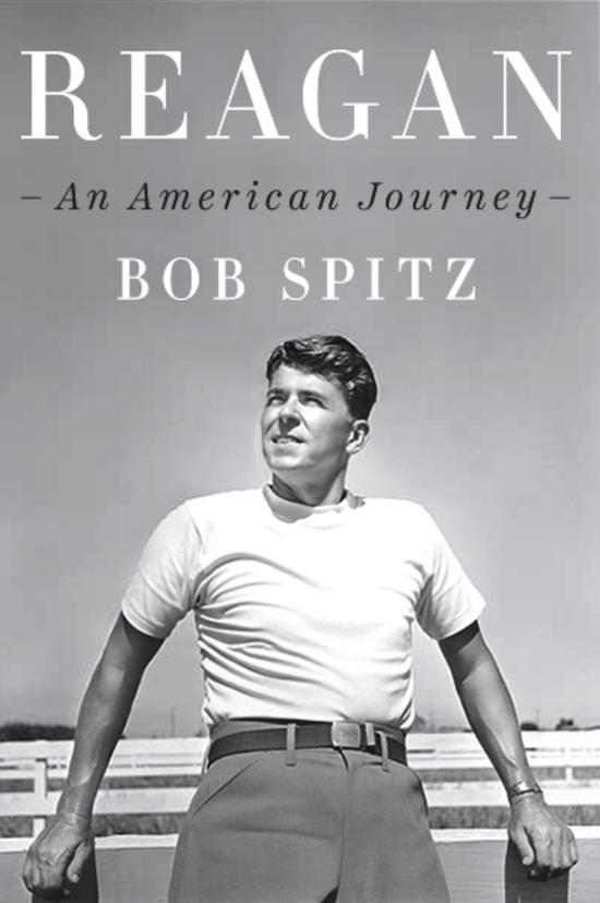 Book cover of a Reagan by Bob Spitz.