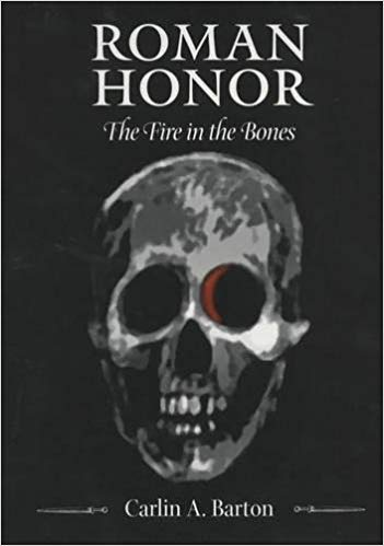 Book cover of Roman Honor by Carlin Barton.