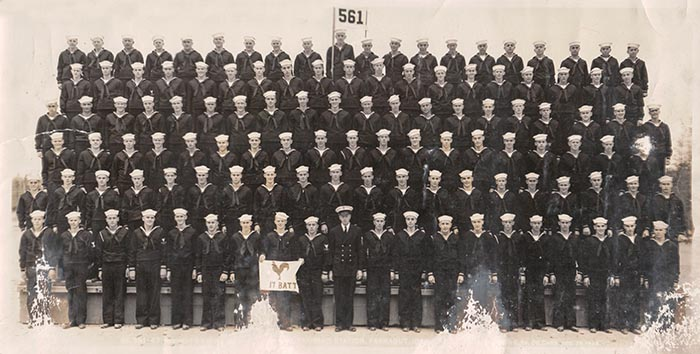 Vintage Group of sailors.