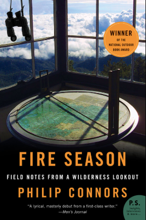 Fire Season by Philip Connors book cover.