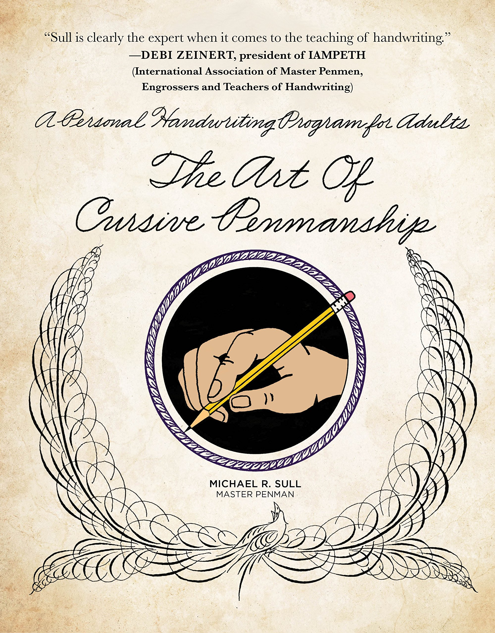 """Book cover of """"The Art of Cussive Penmanship"""" by Michael R. Sull."""
