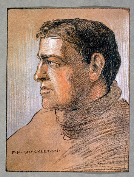 Ernest Shackleton's sketch.