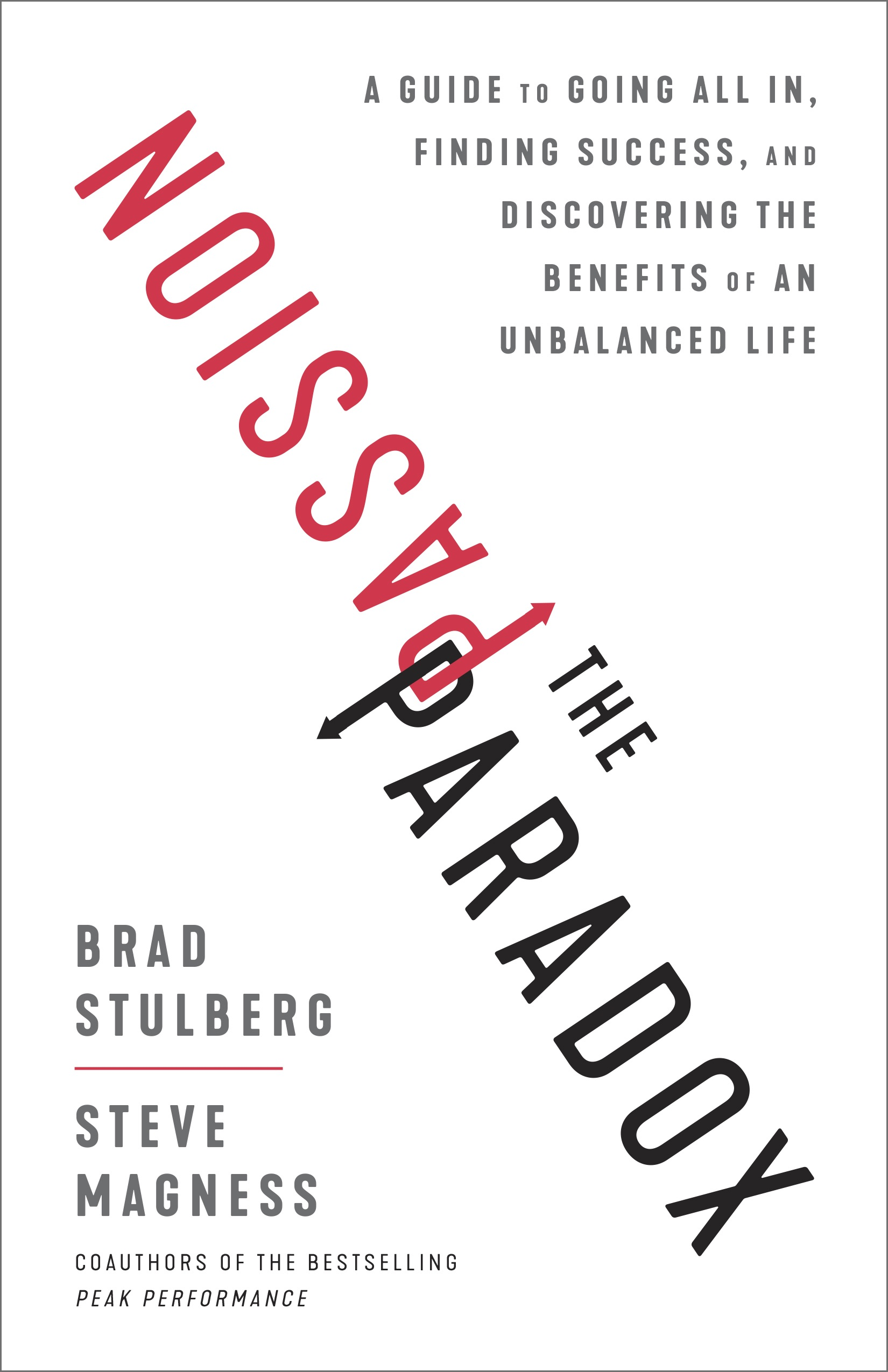 The passion paradox book cover by Brad Stukberg.