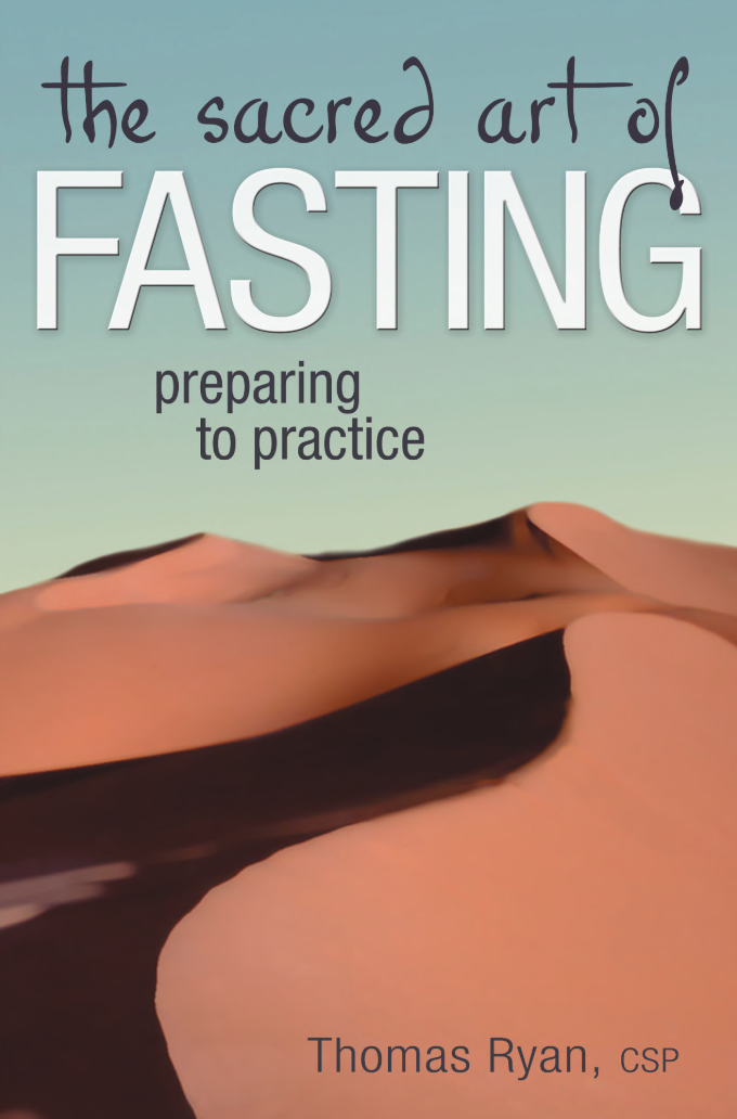 """Fasting"" by Thomas Ryan book cover."