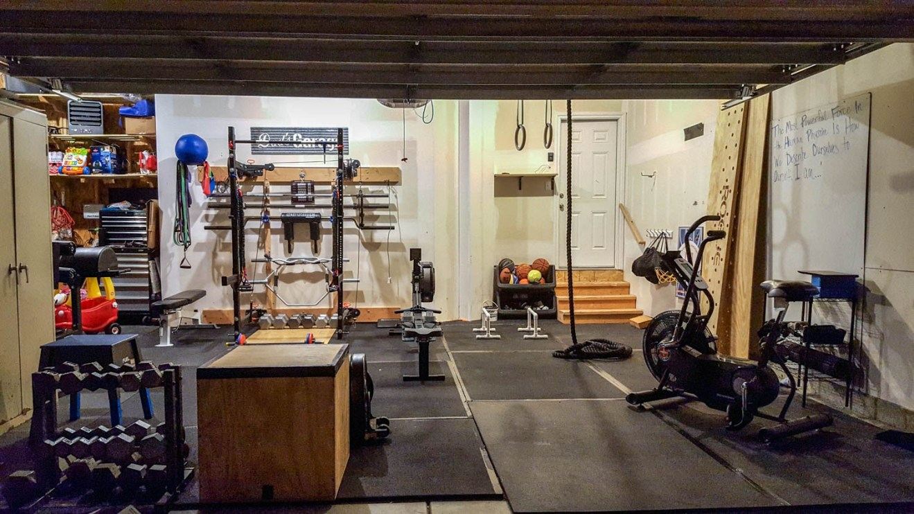 How to turn your garage into a home gym how to build a house