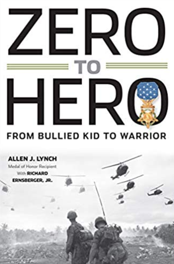 """Book cover of """"Zero to Hero """" by Allen J.Lych."""