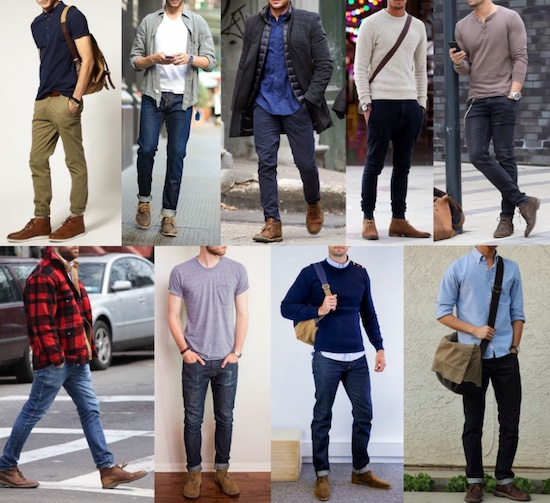 Different dressing styles shown.