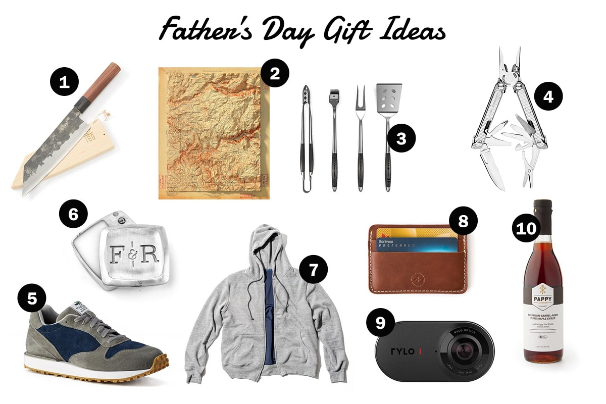 Gift idea's for the father day.