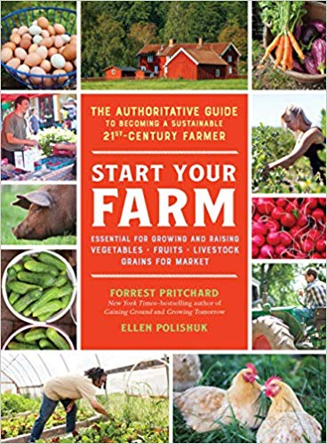 Start your farm by Forrest Pritchard book cover.