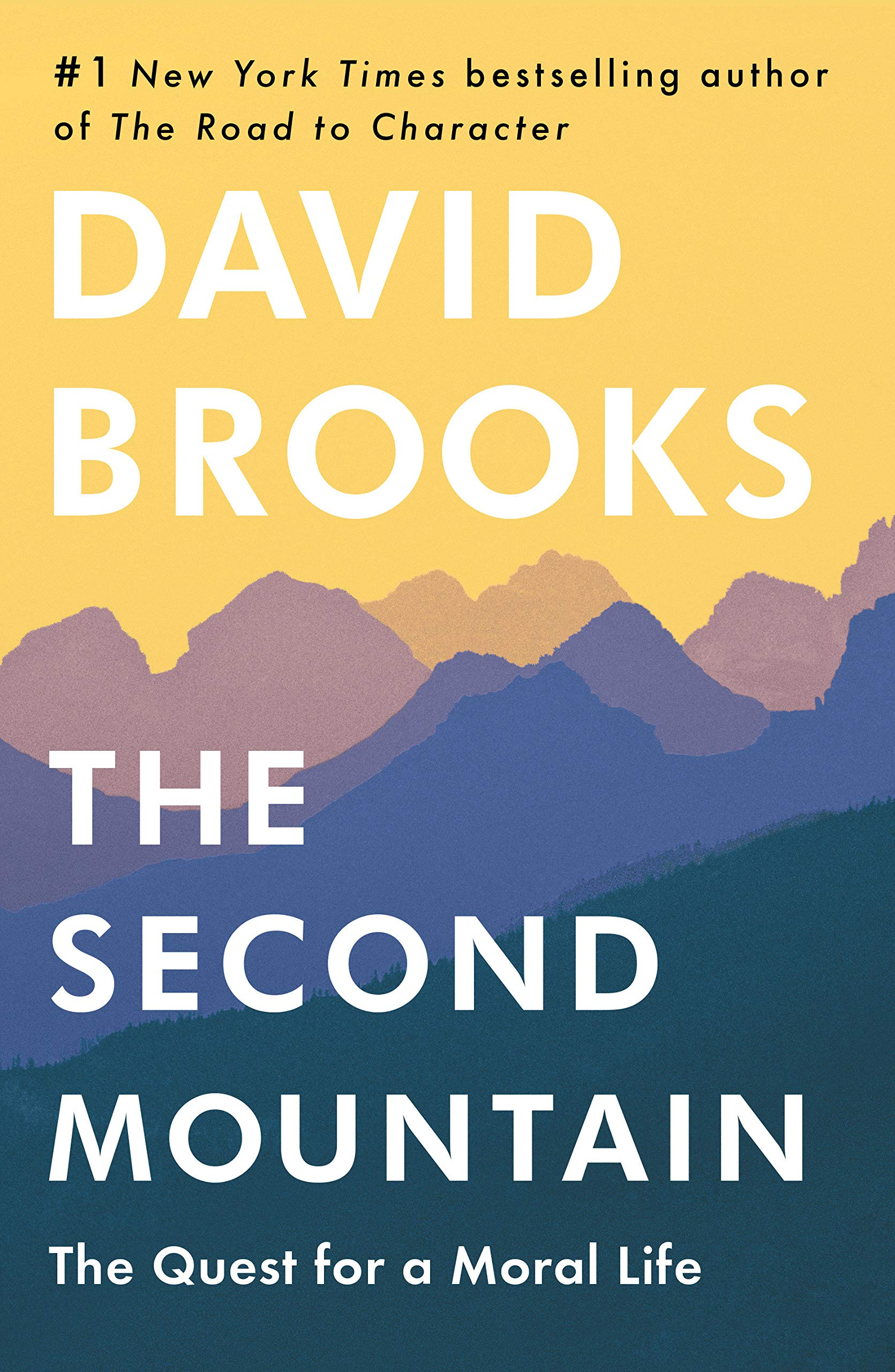 Second Mountain by David Brooks book cover.
