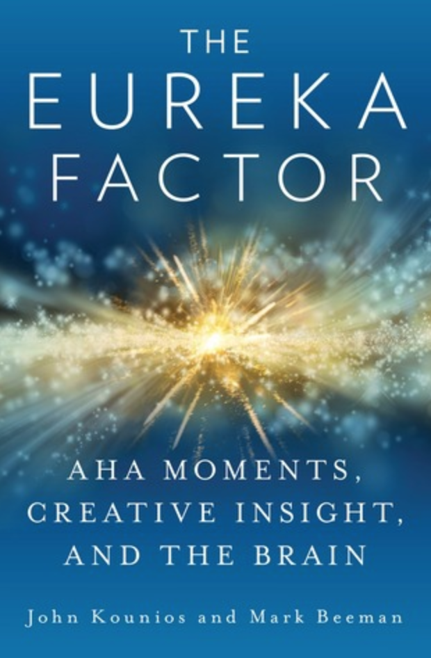 The Eureka Factor by John Kounion and Mark Beeman book cover.