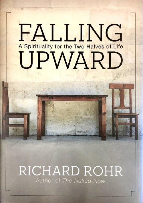 Falling upward by Richard Rohr book cover.