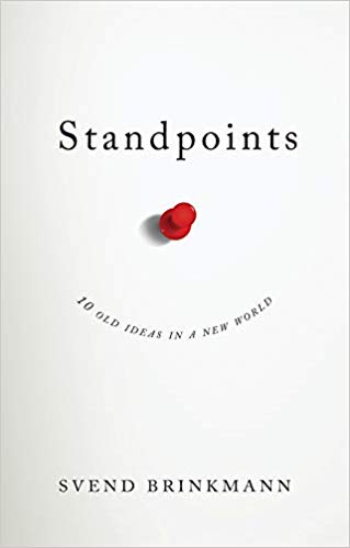 Standpoints by svend brinkmann book cover.