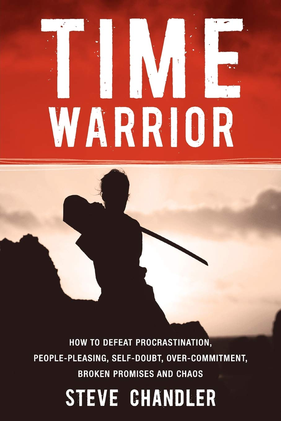 Time warrior by Steve Chandler book cover.