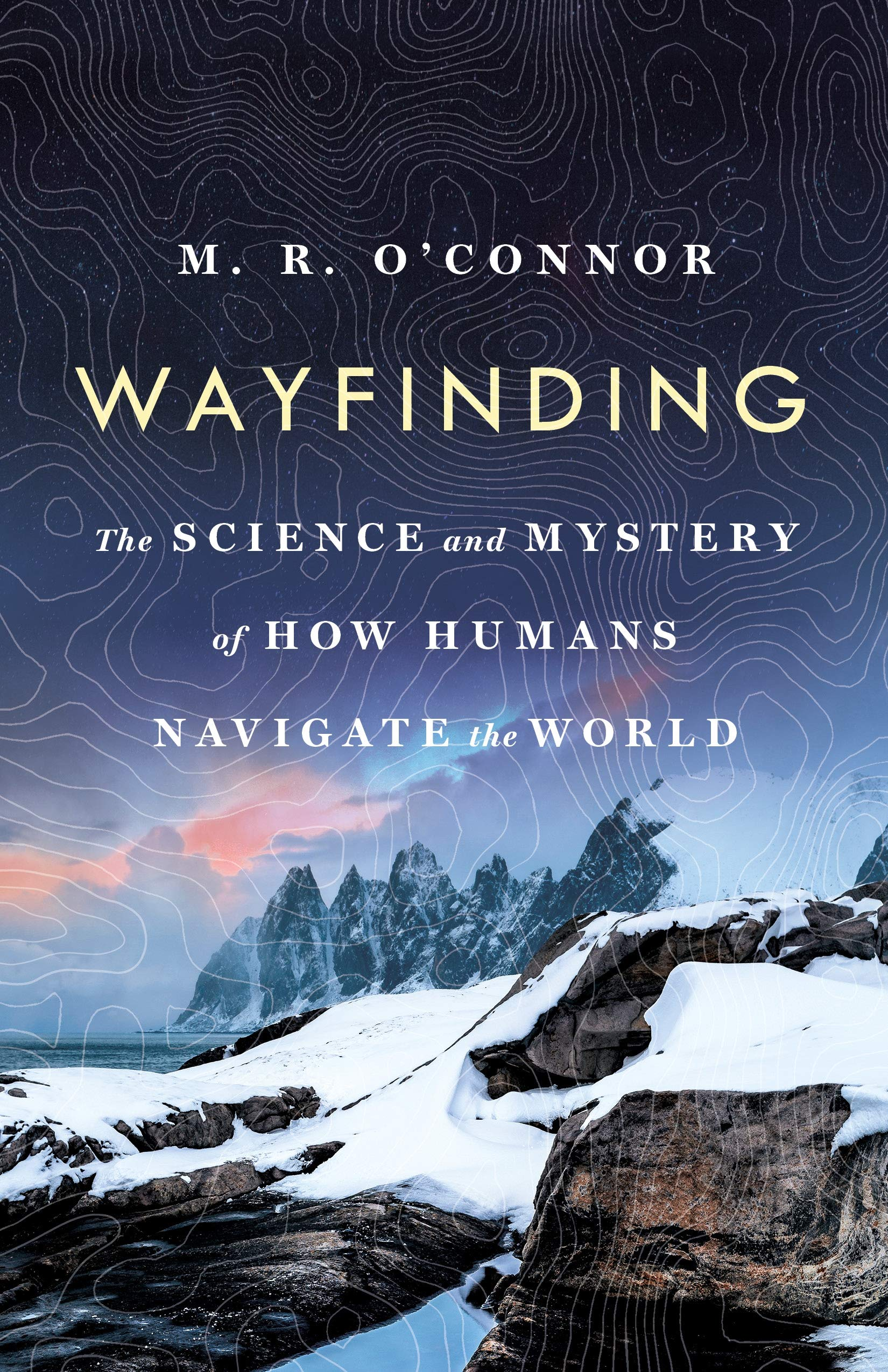 Wayfinding by M R O'connor book cover.