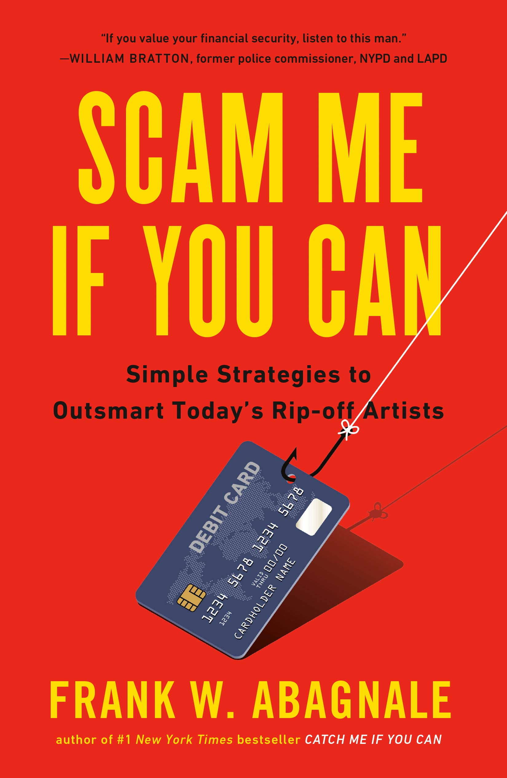 """Scam me if you can"" by Frank Abagnale book cover."