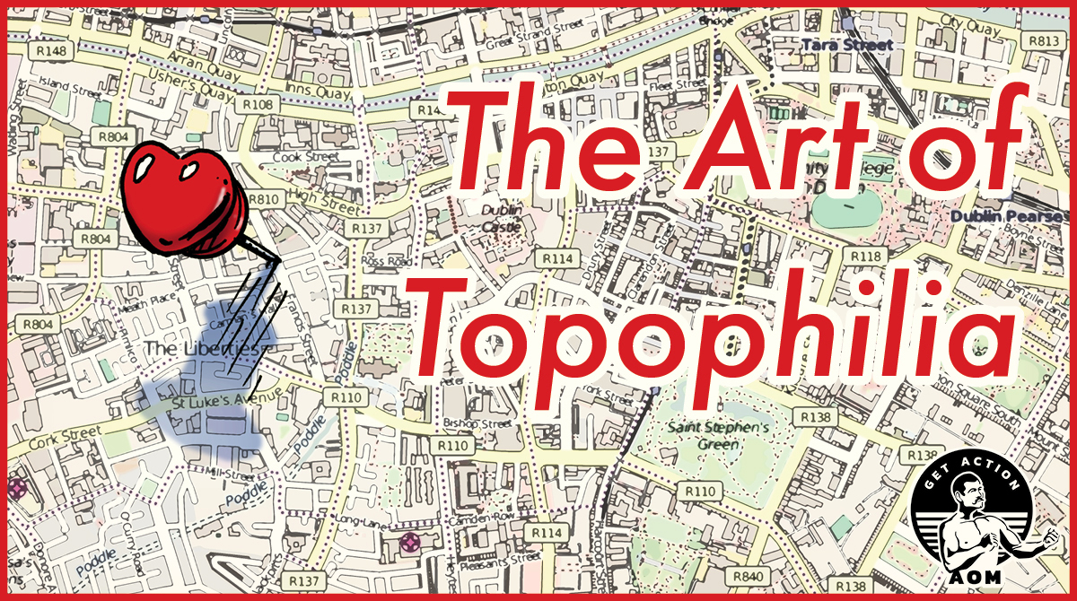 Art of topophilia how to love the place you live heart pin on map.