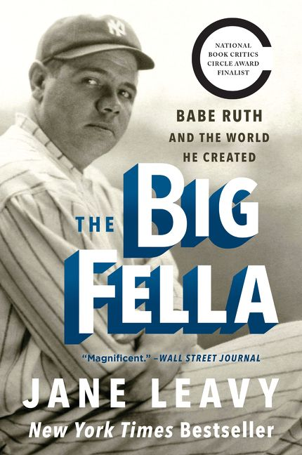 """Big fella"" book cover by Jane Leavy."