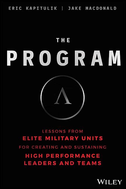 "Book cover of ""The Program"" by Eric Kapitulik and Jake Macdonald."