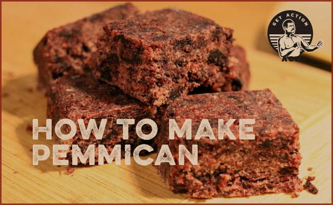 Pemmican on the table.