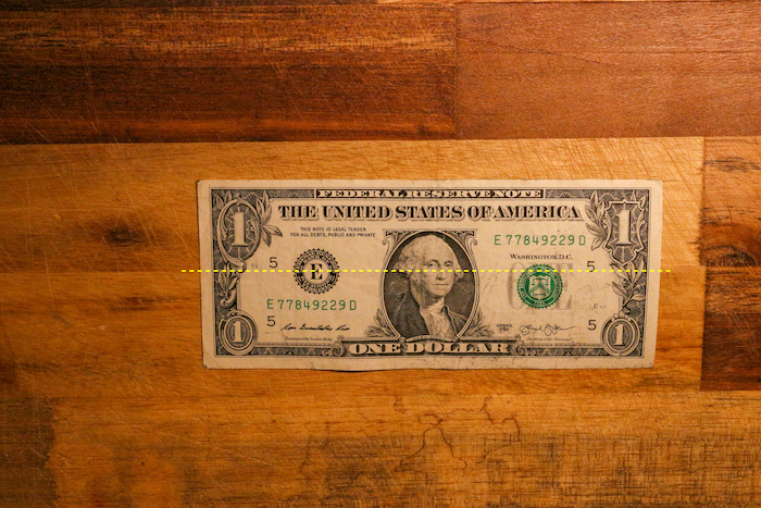 A Dollar.