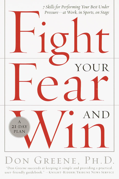 Fight your fear and win book cover by Don Greene.