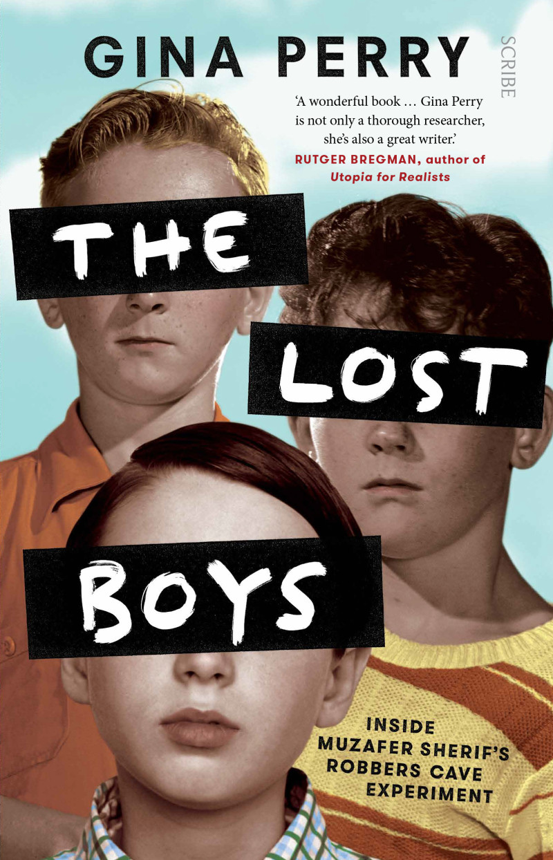 The Lost boys by Gina Perry book cover.