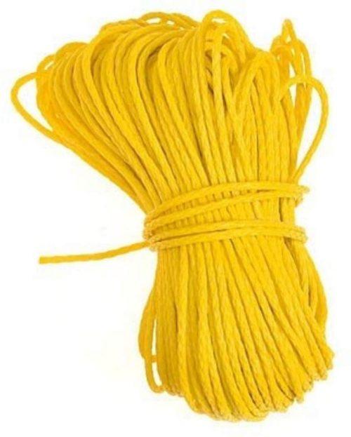 Polyethylene rope.