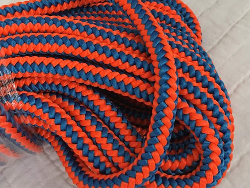 Polyester rope.