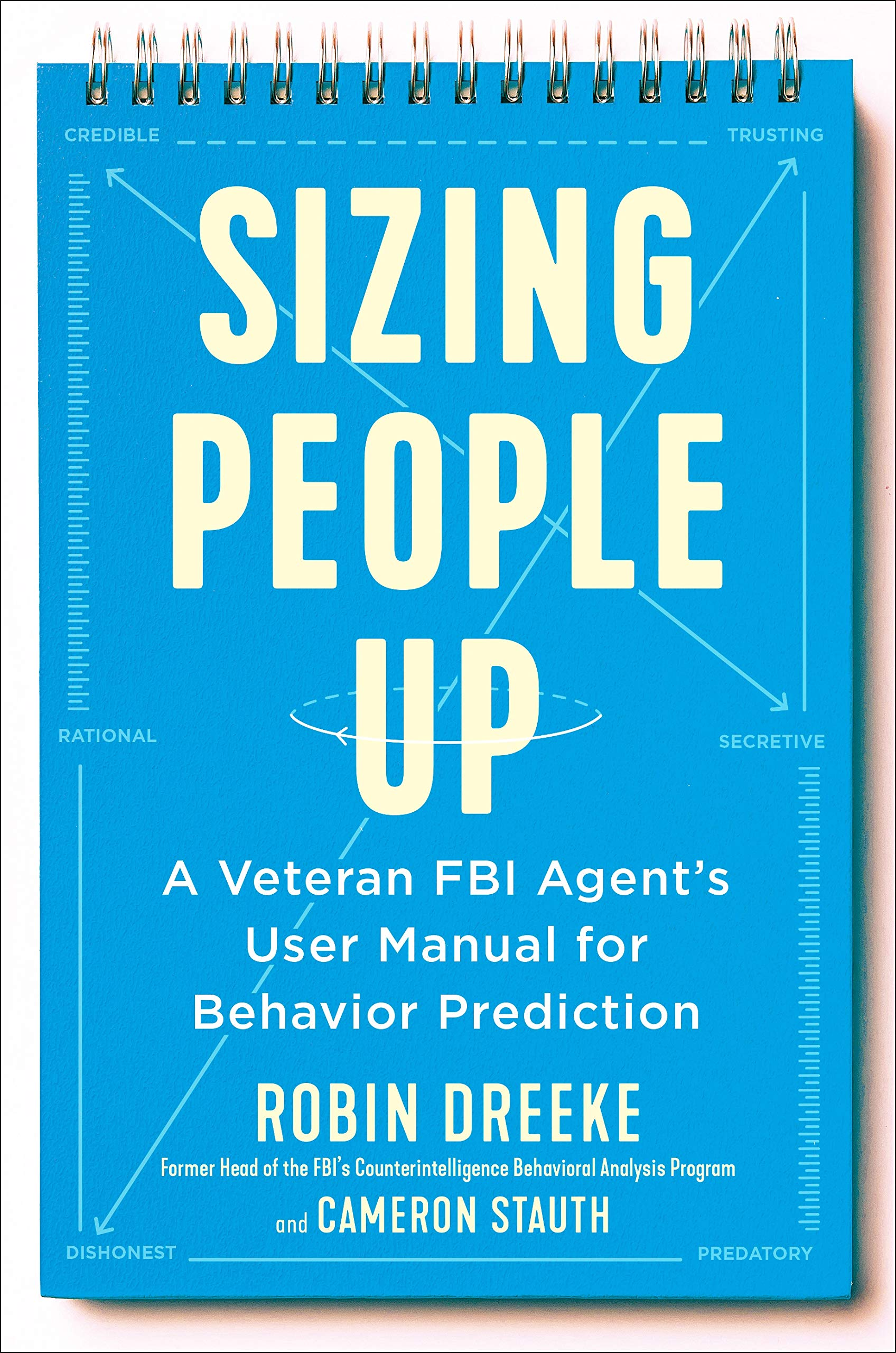Sizing People Up by Robin Dreeke book cover.