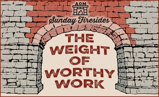 The Weight of Worthy Work poster.