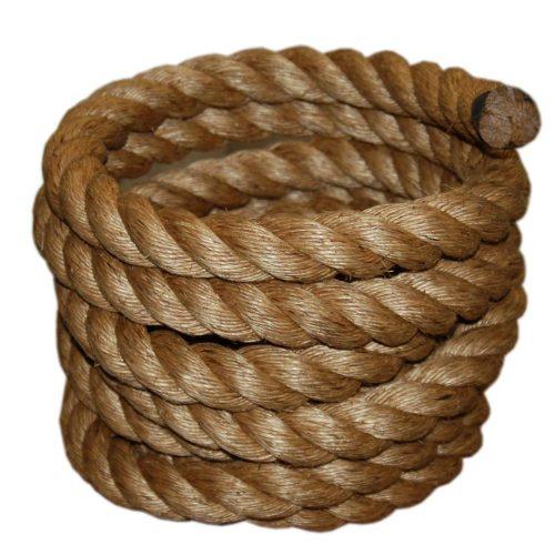 Manila rope.