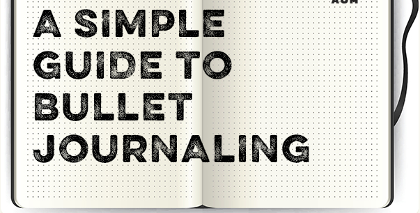 A Simple Guide to the Bullet Journal | Art of Manliness