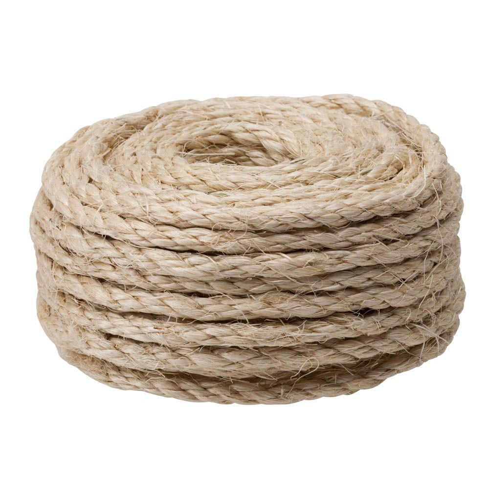 Bundle of sisal rope.
