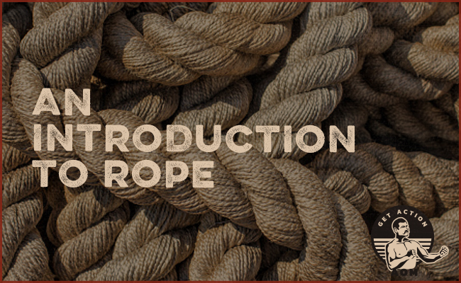 Twisted ropes.