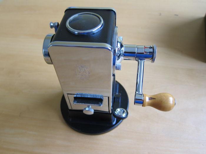 The gilded rotary sharpener.