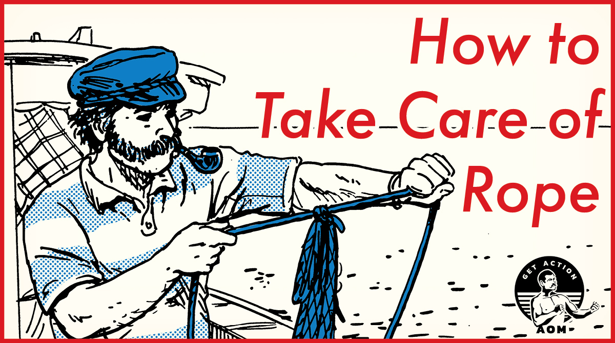 comic of How to Take Care of Rope.