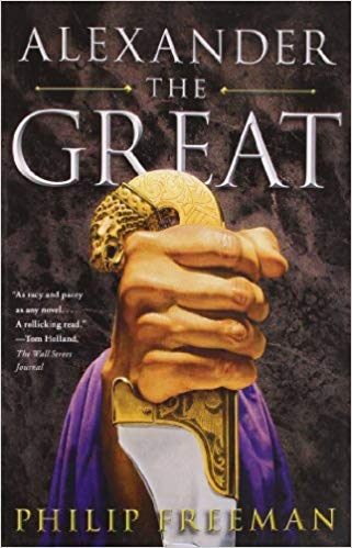 Book cover of Alexander the Great by Philip Freeman.