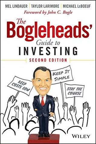 The Bogleheads' Guide to Investing book cover.