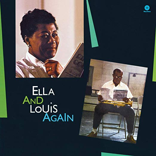 Ella and Louis Again by Ella Fitzgerald and Louis Armstrong book cover.