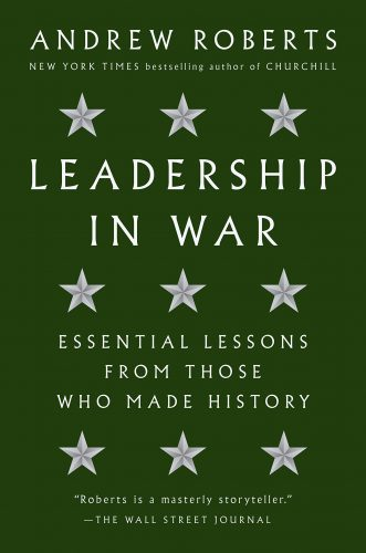 Leaders in the war by Roberts book cover.