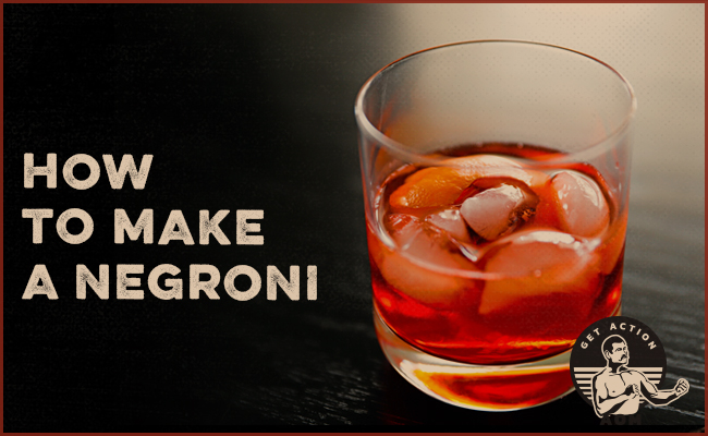 The Negroni in a glass.