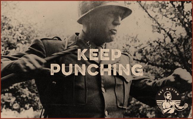 General Patton's Punching.