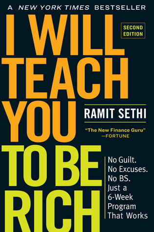 I Will Teach You to Be Rich by Ramit Sethi book cover.