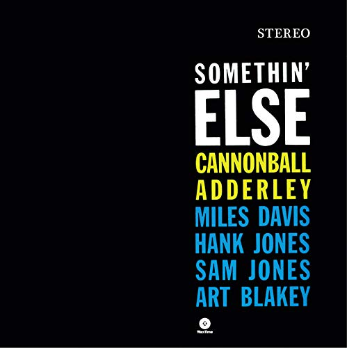 Book cover of Something Else by Cannonball Adderley.